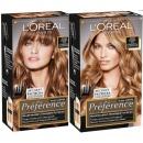 """L'Oreal краска для волос """"Preference. Глэм Лайт"""" для мелирования, 138 мл, тон 2"""