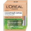 L'Oreal скраб для лица сахарный, очищающий, 50 мл