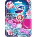"""Domestos блок для очищения унитаза """"Power 5. Ледяная Магнолия"""", 55 г"""