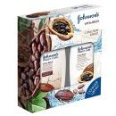 """Johnson`s подарочный набор """"VITA-RICH. Питательный"""" с маслом какао, 250 мл + 250 мл"""