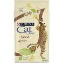 """Cat Chow корм """"с Уткой"""" для взрослых кошек, 1.5 кг"""
