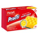 """Paclan губки для посуды """"Practi Multi-Wave"""", 5 шт"""