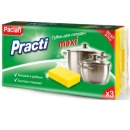 """Paclan губки для посуды """"Practi Maxi"""", 3 шт"""