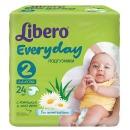 "Libero подгузники ""Every Day"" 3-6 кг, 24 шт"
