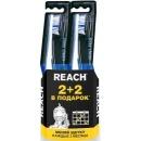 "Reach зубная щетка ""Floss Clean"" средней жесткости, 2 шт + 2 шт"