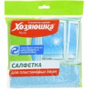 Хозяюшка Мила салфетка для пластиковых окон микрофибра, 30 х 30,1 шт
