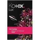 "Kotex тампоны ""Lux. Super"" с аппликатором, 16 шт"