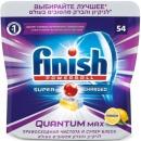 """finish таблетки для посудомоечных машин """"Quantum Max"""" Лимон, 54 шт"""