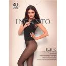 """Incanto колготки """"Elle 40"""" nero + гольфы Micronet"""