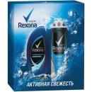 """Rexona подарочный набор """"Активная Энергия"""", антиперспирант + гель для душа"""