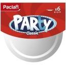 Paclan тарелки пластиковые 23 см, 6 шт