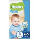 """Huggies подгузники для мальчиков """"Ultra Comfort"""" размер 4, 8-14 кг, 66 шт"""