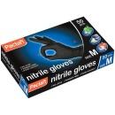 Paclan перчатки нитриловые, черные, размер M, 50 шт