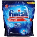 "finish таблетки для посудомоечных машин ""All in1. Shine&Protect"", 50 шт"