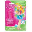 """Маленькая фея лак для ногтей """"Устойчивая формула, Розовый шелк"""" для девочек, 6 мл"""