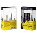 """Maybelline набор тушь для ресниц """"Colossal Big Shot"""" черная + лайнер для глаз """"Prestige Liguid"""" черный"""