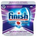"""finish таблетки для мытья посуды в посудомоечных машинах """"Quantum Max"""", 40 шт"""