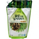 "Natural LG средство для мытья посуды ""Forest"" с ароматом хвои, 1200 мл"