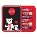 "Lip Smacker набор бальзамов для губ ""Coca-Cola Annual Tin- Pixel"", 6 х 4 г"