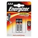 Energizer батарейка алкалиновая Max Plus LR03/E92 тип ААА, 2 шт