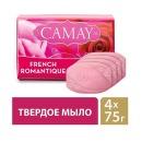"""Camay мыло твердое """"French Romantique"""", 4х75г"""