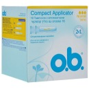 "o.b. тампоны ""Compact Applicator"" normal, 16 шт"