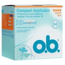 "o.b. тампоны ""Compact Applicator"" super, 16 шт"