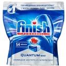 """finish таблетки для мытья посуды для посудомоечных машин """"Quantum Max"""", 54 шт"""