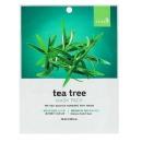 Bergamo маска тканевая для лица с экстрактом чайного дерева, 28 мл