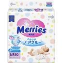 Merries подгузники для новорожденных, размер NB, 0-5 кг, 90 шт