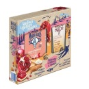 """Le Petit Marseillais подарочный набор гель для душа """"Средиземноморский гранат"""" + питательный крем для рук """"Карите, сладкий миндаль и масло арганового дерева"""", 250 мл + 75 мл"""