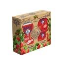 """Le Petit Marseillais подарочный набор: гель для душа """"Клубника Прованса"""" + мыло """"Клубника"""", 250 мл + 2х90 г"""
