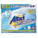 Attack концентрированный универсальный стиральный порошок с активным кислородным пятновыводителем и кондиционером Multi-Action, 0.9 кг