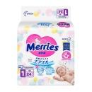 Merries подгузники для новорожденных, размер NB, 0-5 кг, 24 шт