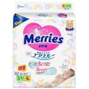 Merries Подгузники для детей размер S 4-8 кг, 82+6 шт