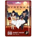 Funny Organix ВВ-маска тканевая Byrenka style Идеальный тон, 12 мл