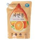 "Natural Pong LG средство для мытья посуды ""Orange"" с ароматом апельсина, 1200 мл"
