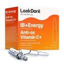 LookDore концентрированная сыворотка в ампулах моментального восстановления с витамином С IB+ENERGY AMPOULES ANTI-OX VITAMIN C+, 10 x 2 ml