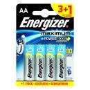 "батарейки ""Maximum"" AA алкалиновые, 3 + 1 шт"