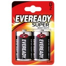 "батарейки ""Eveready Super Heavy Duty D"" солевые, 2 шт (блистер)"