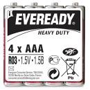 "батарейки ""Eveready"" AAA солевые, 4 шт (пленка)"