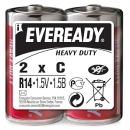 """батарейки """"Eveready"""" солевые, (пленка), 2 шт"""