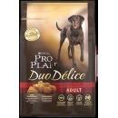 """корм """"Duo Delice"""" для взрослых собак, говядина и рис, 10 кг"""