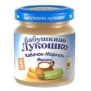"""пюре """"Кабачок, морковь, молоко"""" с 5 месяцев, 100 г"""