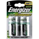 "Energizer аккумулятор ""Rechargeable D/hr20 2500 mah Fsb2"" блистер 2 шт"