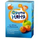 """Фруто Няня сок """"Яблоко и абрикос"""" с 5 месяцев, 200 мл"""