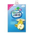 """пюре """"Яблоко, банан, творог"""" с 6 месяцев, 90 г"""
