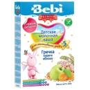"""Bebi Premium каша молочная """"Гречка, курага, яблоко"""" с 5 месяцев, 200 г"""
