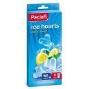 Paclan мешочки для льда сердечки 8х20 шт, тон прозрачный, 160 шт