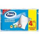 Zewa полотенца кухонные 2-ух слойные, 4 шт
